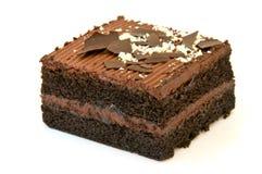 Torta di cioccolato squisita Immagine Stock