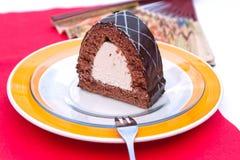 Torta di cioccolato ungherese Fotografia Stock Libera da Diritti