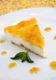 Torta di formaggio Fotografia Stock Libera da Diritti