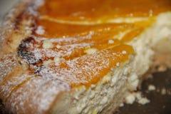 Torta di formaggio casalinga deliziosa Immagine Stock