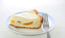 Torta di formaggio della parte Fotografie Stock Libere da Diritti