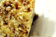 Torta di formaggio di marmo Fotografia Stock