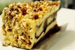 Torta di formaggio di marmo Fotografie Stock Libere da Diritti