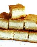 Torta di formaggio domestica Fotografie Stock