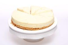 Torta di formaggio Peachy immagine stock