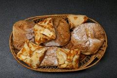 Torta di formaggio ungherese Fotografia Stock