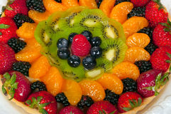 Torta di frutta Immagini Stock