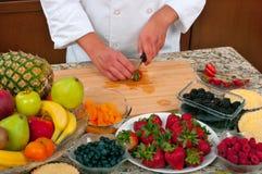 Torta di frutta Fotografia Stock Libera da Diritti
