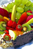 Torta di frutta Fotografie Stock