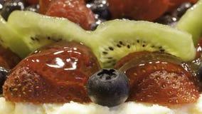 Torta di frutta Immagine Stock Libera da Diritti