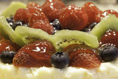 Torta di frutta Fotografia Stock