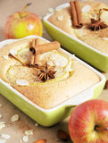 Torta di mele casalinga Immagine Stock