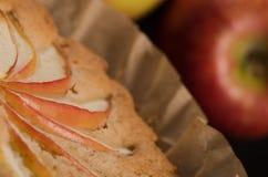 Torta di mele casalinga del vegano Fotografia Stock Libera da Diritti