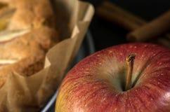 Torta di mele casalinga del vegano Immagine Stock Libera da Diritti