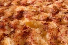 Torta di mele con cannella Fotografie Stock