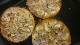 Torta di mele del vegano Fotografia Stock Libera da Diritti