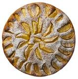 Torta di mele - torta di mele Fotografia Stock Libera da Diritti