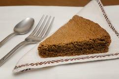 Torta di nocciole,山麓意大利榛子蛋糕  免版税库存图片