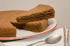 Torta di nocciole, bolo da avelã de Piedmont Itália Fotografia de Stock Royalty Free
