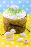 Torta di Pasqua Fotografie Stock