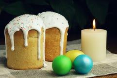 Torta di Pasqua Fotografie Stock Libere da Diritti