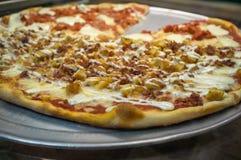 Torta di pizza di New York Fotografie Stock Libere da Diritti