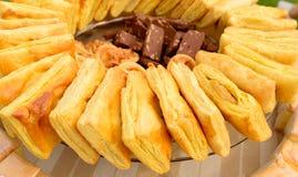 Torta do abacaxi Foto de Stock Royalty Free