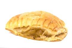 Torta do abacaxi isolada no branco Imagens de Stock Royalty Free