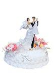 A torta do casamento Fotos de Stock Royalty Free