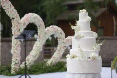 Torta 8 do casamento fotos de stock royalty free