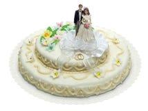 Torta 8 do casamento imagens de stock royalty free