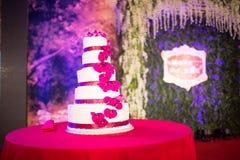 Torta 8 do casamento Fotografia de Stock Royalty Free