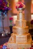 Torta 8 do casamento Imagem de Stock