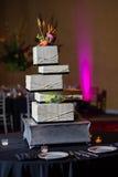 Torta 8 do casamento Foto de Stock Royalty Free