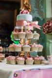 Torta 8 do casamento Imagens de Stock