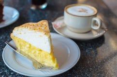 Torta do coco Fotografia de Stock