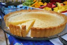 Torta do limão Imagens de Stock