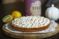 Torta do limão da galdéria Imagens de Stock Royalty Free