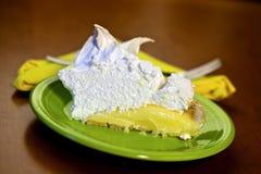 Torta do Meringue Fotografia de Stock Royalty Free