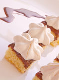 Torta do Meringue Imagem de Stock Royalty Free