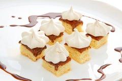 Torta do Meringue Fotos de Stock
