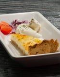 Torta do queijo Fotografia de Stock