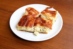 Torta do queijo - Borek Fotografia de Stock Royalty Free