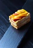 Torta doce com maçãs e geleia Imagens de Stock