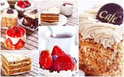 Torta dolce Fotografia Stock