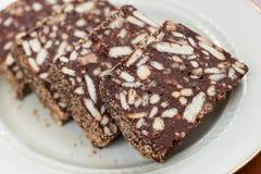 Torta dolce di Bisquit Fotografia Stock Libera da Diritti