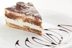 Torta dolce e saporita Fotografia Stock Libera da Diritti