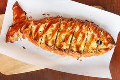 Torta dos peixes Foto de Stock Royalty Free
