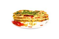 Torta dos vegetais Imagem de Stock