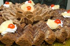 Torta dulce Foto de archivo